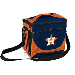 Logo Brand Houston Astros 24-Can Cooler Tote