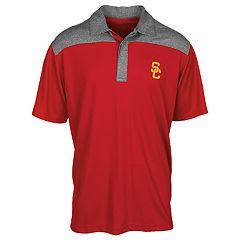 Men's USC Trojans Colorblock Polo