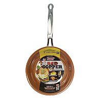 As Seen on TV Red Copper 8-inch Frypan