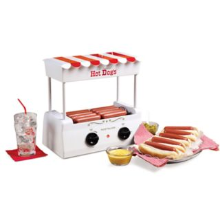 Nostalgia Electrics Hot Dog Roller & Griddle