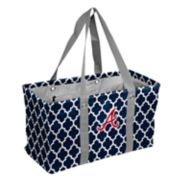 Logo Brand Atlanta Braves Picnic Caddy Tote