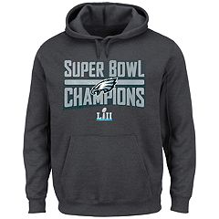Big & Tall Philadelphia Eagles Super Bowl LII Champions Hoodie