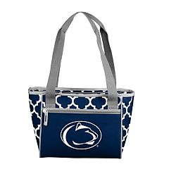 Logo Brand Penn State Nittany Lions Quatrefoil 16-Can Cooler Tote