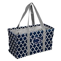 Logo Brand Penn State Nittany Lions Quatrefoil Picnic Caddy Tote