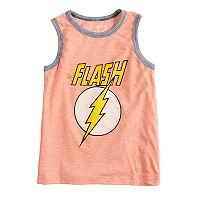 Boys 4-10 Jumping Beans® DC Comics The Flash Logo Graphic Tank Top