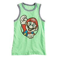 Boys 4-10 Jumping Beans® Mario Bros. Graphic Tank Top