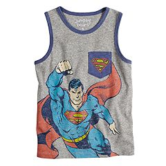 Boys 4-10 Jumping Beans® Marvel Super-Man Pocket Graphic Tank Top