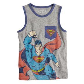 Boys 4-10 Jumping Beans® Marvel Super-Man Pocket Graphic Tank Top