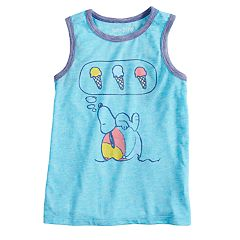 Boys 4-10 Jumping Beans® Snoopy 'Ice Cream Every Day' Graphic Tank Top