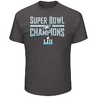 Big & Tall Philadelphia Eagles Super Bowl LII Champions Tee