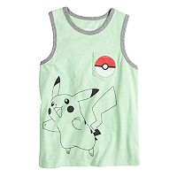 Boys 4-10 Jumping Beans® Pokemon Pikachu Pocket Graphic Tank Top