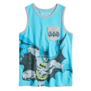 Boys 4-10 Jumping Beans® DC Comics Batman Pocket Graphic Tank Top