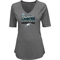 Plus Size Philadelphia Eagles Super Bowl LII Champions Game Time Gal Tee