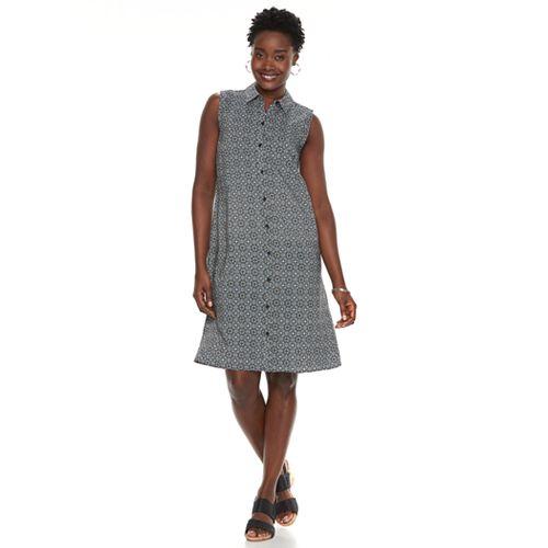 1fbecc7b147e6f Women s Croft   Barrow® Print Shirt Dress