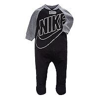 Nike Baby Boy Nike Futura Black Footed Sleep & Play Deals