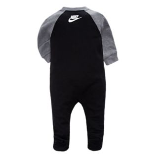 Baby Boy Nike Futura Black Footed Coverall