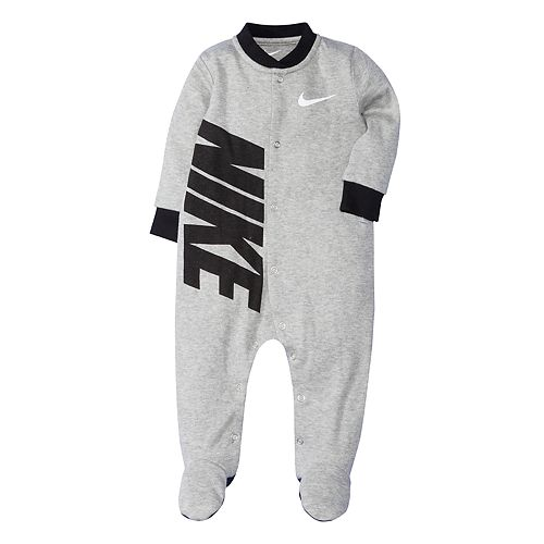Baby Boy Nike Swoosh Footed Coverall