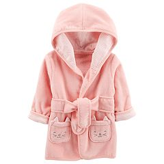 Baby Girl Carter's Hooded Cat Robe