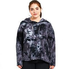 Plus Size Balance Collection Tie-Dye Hoodie