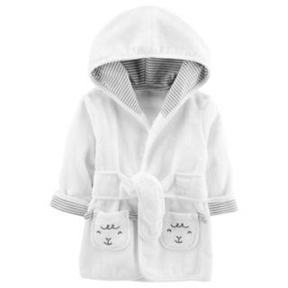 Baby Carter's Hooded Lamb Robe