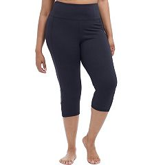 Plus Size Balance Collection High-Rise Capri Leggings