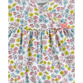 Baby Girl Carter's 2-Pack Striped & Floral Sleeper Gowns