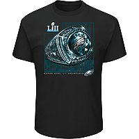 Big & Tall Philadelphia Eagles Super Bowl LII Champions Celebration Tee