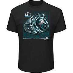 Big & Tall Philadelphia Eagles Super Bowl LII Champions Celebration Tee