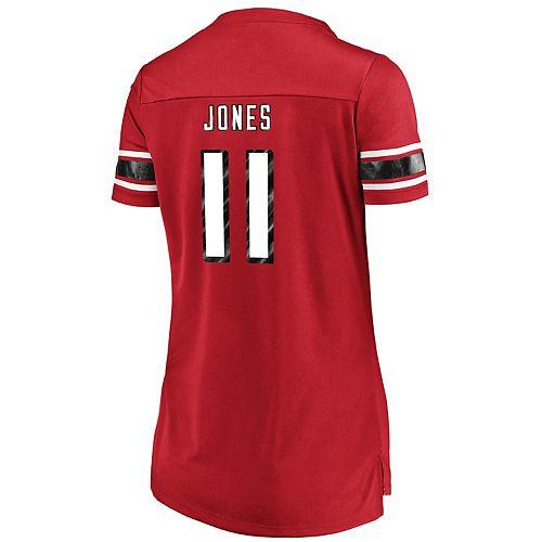 Women's Majestic Atlanta Falcons Julio Jones Draft Him Tee