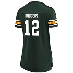 Women's Majestic Green Bay Packers Aaron Rodgers Draft Him Tee