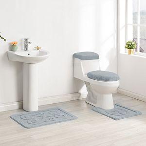 Maples Ultra Soft 3 Piece Bath Rug Set