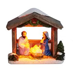 St. Nicholas Square® Village Mini Nativity with Lights