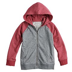 Boys 4-12 SONOMA Goods for Life™ Colorblock Zip Hoodie