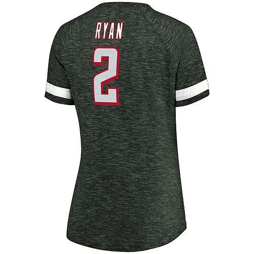 Women's Majestic Atlanta Falcons Matt Ryan Tee