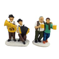 St. Nicholas Square® Village Set of 2 Beer Drinkers