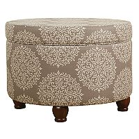 HomePop Small Storage Ottoman