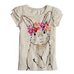 Girls 4-12 SONOMA Goods for Life™ Embellished Flutter Tee