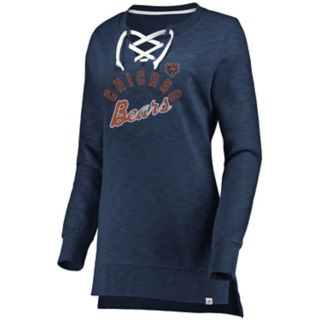 Women's Chicago Bears Hyper Lace-Up Tee