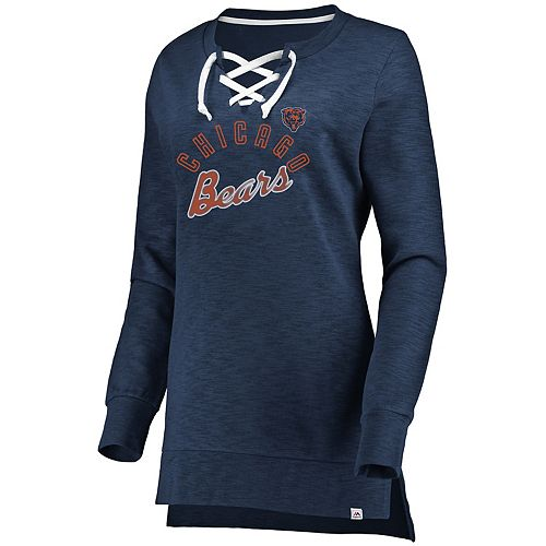 857ba0e85 Women's Chicago Bears Hyper Lace-Up Tee