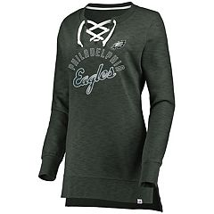 Women's Philadelphia Eagles Hyper Lace-Up Tee