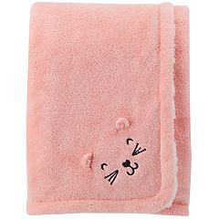 Baby Girl Carter's Cat Plush Blanket