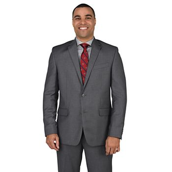 Big & Tall Dockers Modern-Fit Stretch Gray Suit Jacket