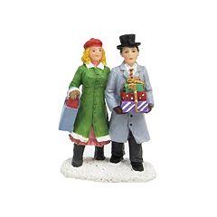 St. Nicholas Square® Village Holiday Shoppers