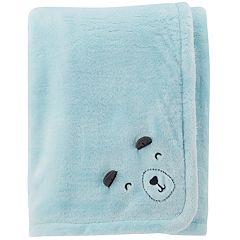 Baby Boy Carter's Bear Plush Blanket