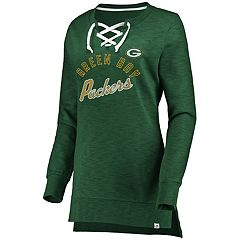 Women's Green Bay Packers Hyper Lace-Up Tee