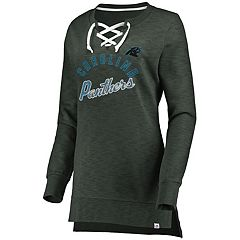 Women's Carolina Panthers Hyper Lace-Up Tee