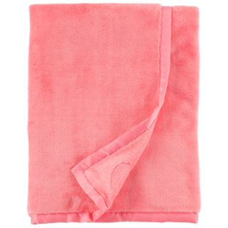 Baby Girl Carter's Heart Plush Blanket