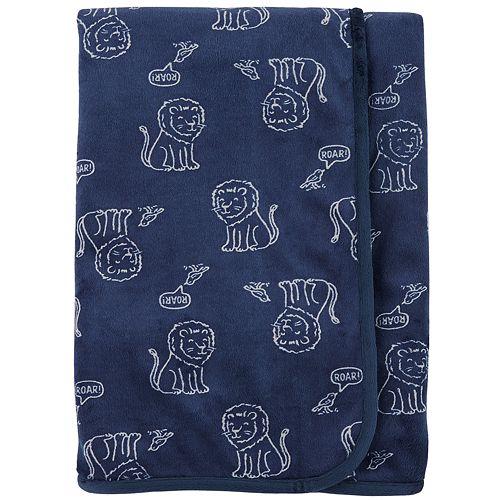 Baby Boy Carter's Lion Plush Blanket