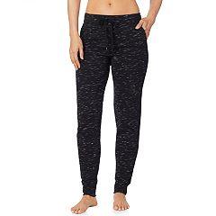 Women's Cuddl Duds Comfortwear Fleece Jogger Pants