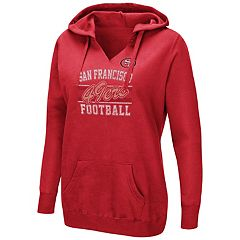 Women's Majestic San Francisco 49ers Quick Out Hoodie